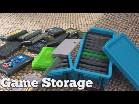 Game Storage - Gameboy Cart Storage Method