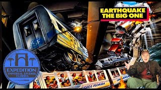 Download The Closed History of Earthquake: The Big One and Disaster! | Expedition Universal Studios Florida Video