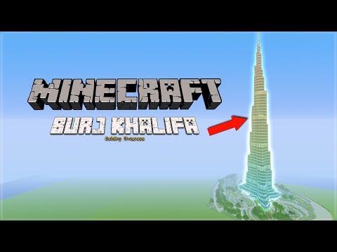Minecraft Burj Khalifa Showcase + Tutorial