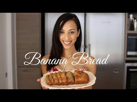 Vegan Banana Bread Recipe SO Easy!