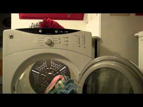 How to dry clothes in a dryer