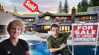 I PUT LOGAN PAULS NEW HOUSE UP FOR SALE!