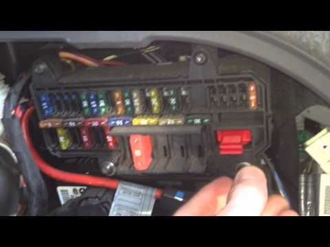 BMW E65 E66 Fuse Box Locations With Chart Diagram