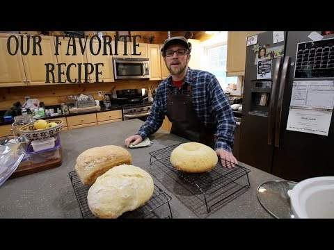 Our Simple No Knead Artisan Bread Recipe