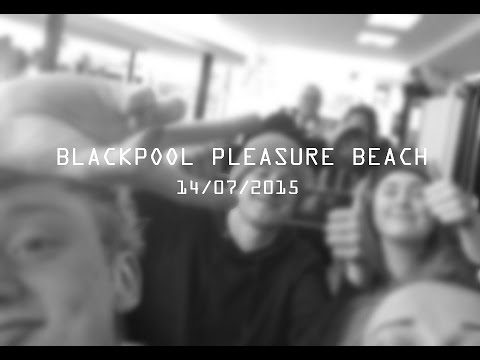 Blackpool Vlog | ft. Jess and Exposure