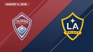 HIGHLIGHTS: Colorado Rapids vs. LA Galaxy | August 4, 2018