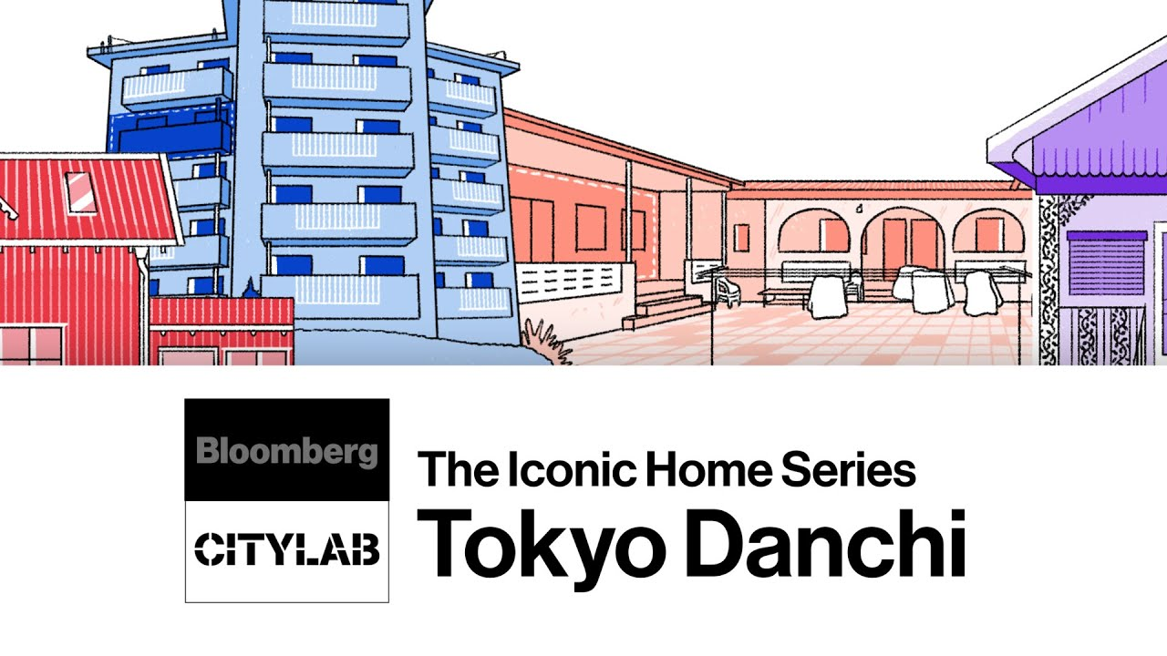 The Design History of Tokyo's Danchi Homes | Bloomberg CityLab