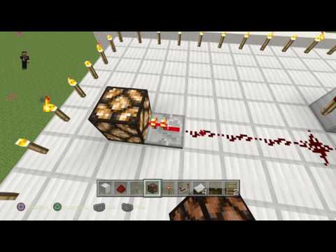 How to make a redstone lamp flicker|minecraft