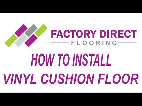 How To Install Vinyl Cushion Flooring