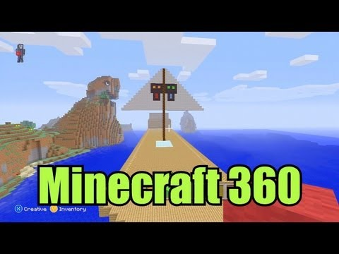 Minecraft - Let's Build A Pirate Ship