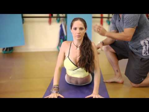 How to Use the Snake Stretch to Get a More Flexible Back : Yoga Poses & Tips