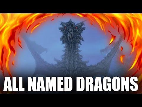Skyrim - All Named Dragons