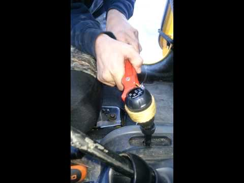 Jeep JK Best Shift Knob Removal
