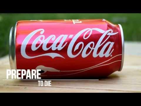 Coca Cola vs Shredder | Coke DEATH