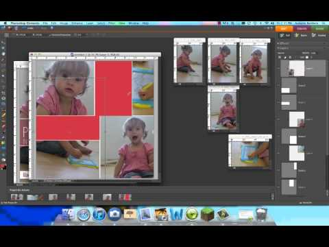 How to create a photo collage in Photoshop Elements Part 2.mp4