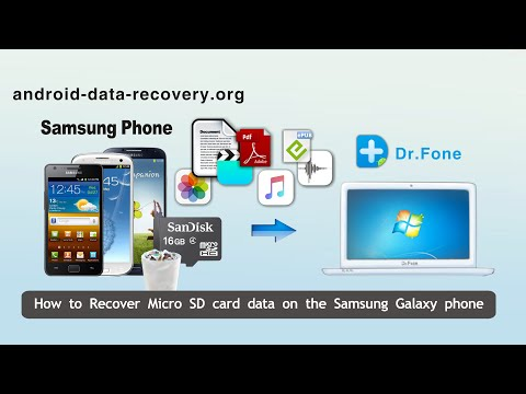 How to Recover Micro SD card data on the Samsung Galaxy phone - SD Card Recovery