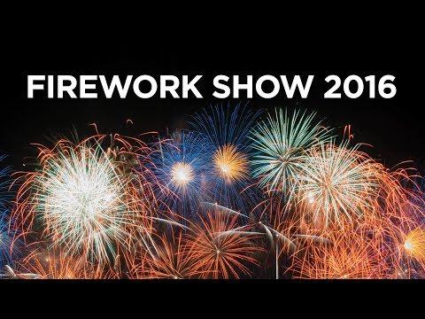 DRONE FIREWORK SHOW 2016 4K