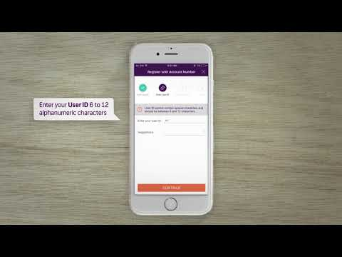 How to register to Mobile Banking