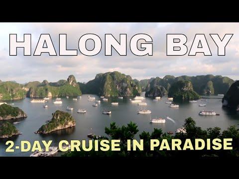 ASIA TRIP VLOG 9 | Vietnam - Halong Bay (2-Day Cruise)