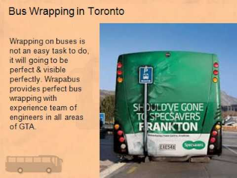 Awesome Bus Vinyl Wrap Canada