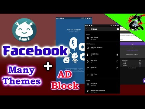 Facebook Themes Changing App + FB Ad Blocker