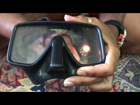 How to defog your diving mask permanently.