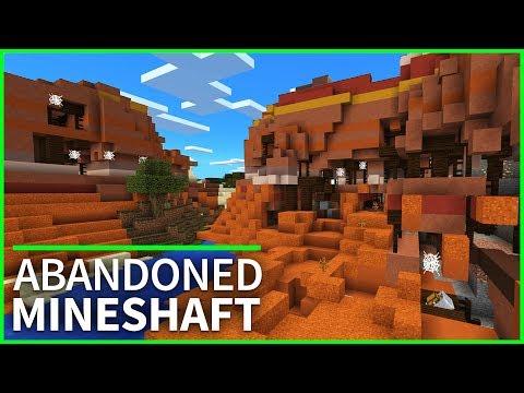 Minecraft PE Seeds - Glitched MINESHAFT ABOVE GROUND Seed - Minecraft 1.2 // MCPE / Xbox / W10