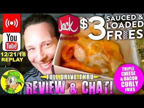 Xxx Mp4 Jack In The Box® Triple Cheese Amp Bacon Curly Fries Livestream Replay 12 21 18 🕵️💬🎙️ 3gp Sex