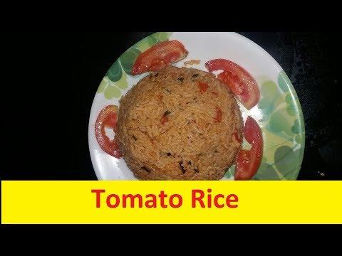 Tomato Rice Bath Easy Recipe in Kannada