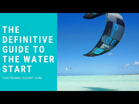 How to Kitesurf: The Definitive Guide To The Waterstart in Kitesurfing.