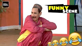 IFTKHAR THAKUR KI POLICE TAFTEESH - 2019 Best Comedy Scenes in Stage Drama😂