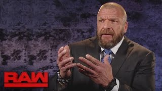 Triple H comments on Seth Rollins