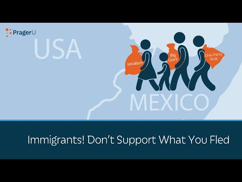 Immigrants! Don't Vote for What You Fled