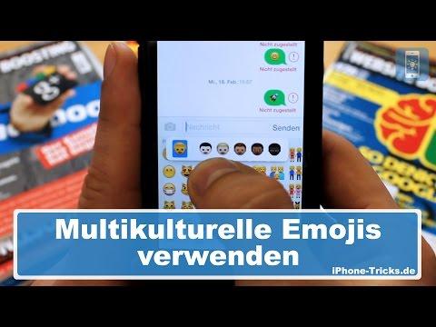 Multikulturelle Emojis & Smileys verwenden | iPhone-Tricks.de
