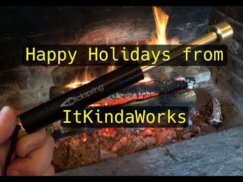 Making a Holiday Fire with ItKindaWorks