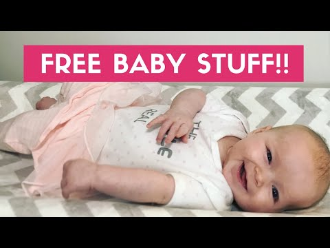 How to Get FREE Baby Stuff 2018! Amazon Baby Registry Welcome Box Unboxing