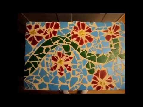 How to create a mosaic tile art piece