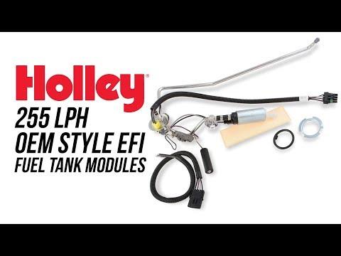 Holley 255 LPH OEM Style EFI Fuel Tank Modules