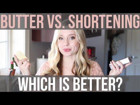 Butter vs.  Shortening: Which is BETTER? | Baking Basics