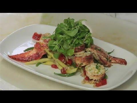 French Lobster Salad : Lobster Salads