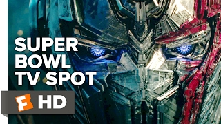 Transformers: The Last Knight Extended Super Bowl TV Spot (2017) | Movieclips Trailers