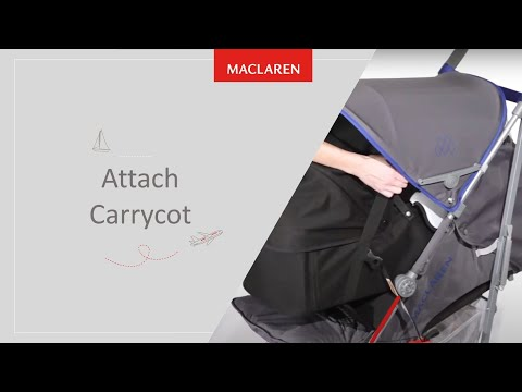 How to attach Carrycot