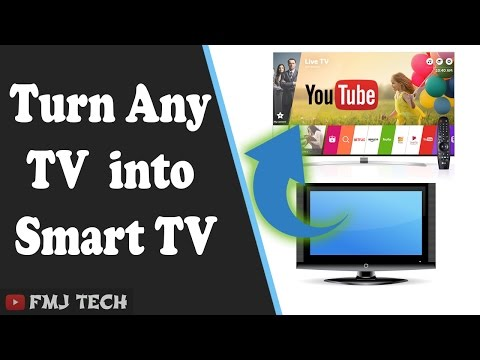 Convert Any TV Into A Smart TV
