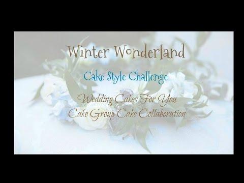 Winter Wonderland Cakes and Desserts