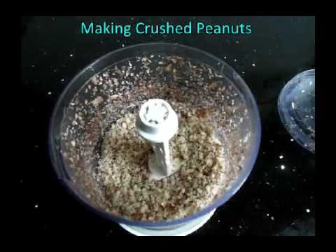 home food blenders for making crushed peanuts