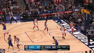 3rd Quarter, One Box Video: Denver Nuggets vs. Oklahoma City Thunder