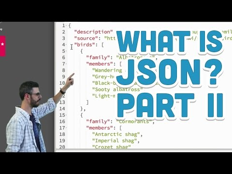 10.3: What is JSON? Part II - p5.js Tutorial