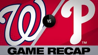 Soto's go-ahead HR leads Nats to win in 10th - 4/9/19