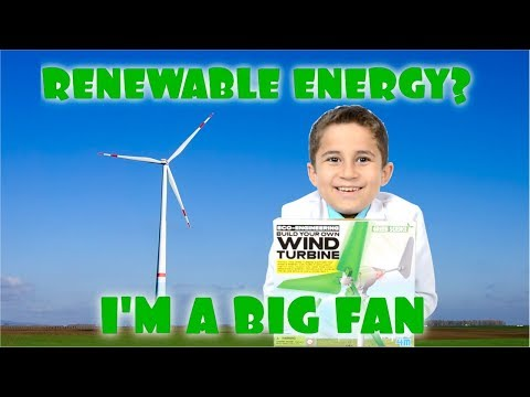 Wind Turbine to Generate Electricity from the wind JoJo's Science Show