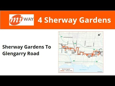 MiWay 2003 New Flyer D40LF #316 On 4 Sherway Gardens (Sherway Gardens To Glengarry Road)